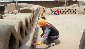 Древний город Чан-Чан (Перу) защитили от дождей