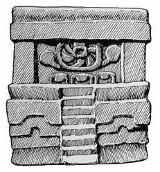 268. Модель сапотекского храма, посвященного Господину 3 Бирюза.