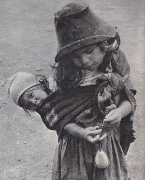индейцы, живущие высоко в Андах