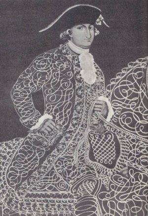 портрет вице-короля Новой Испании (Мексики), выполненный в конце XVIII века в стиле рококо