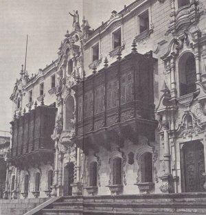 епископский дворец в Лиме (Перу), одна из жемчужин «колониальной» архитектуры