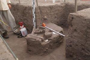 На раскопках археологического памятника Реаль Альто (Эквадор). 2015 г.