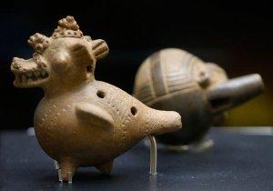 В Коста-Рике проходит серия выставок, посвященных древним индейским музыкальным инструментам. Фото: Rafael Pacheco / nacion.com