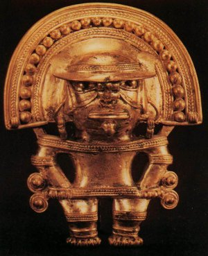 Антропоморфная фигура (11445)  Культура Тайрона