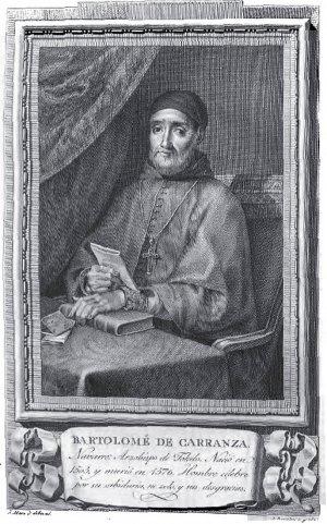 Бартоломе Карранса де Миранда. Гравюра из серии «Retratos de los españoles ilustres» («Портреты выдающихся испанцев»), 1796.
