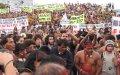 Протесты в Бразилии против поправок к конституции страны, касающихся демаркации земель индейцев. Архивное фото, 2013 г.