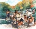 Численность охотников-собирателей Северной Америки увеличивалась так же, как и численность земледельцев Европы