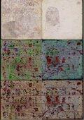 Кодекс Селден. Страницы 10 (справа) и 11 (слева). Сверху так выглядят эти страницы для невооружённого взгляда, ниже изображение, полученное методом гиперспектрального анализа, а в самом низу реконструкция. Иллюстрации: Ludo Snijders, Tim Zaman, David Howell