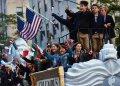 В Нью-Йорке провели красочный парад в честь Дня Колумба. Фото: James Keivom/New York Daily News