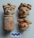 На месте древнего поселения найдены глиняные фигурки людей. Фото - INAH