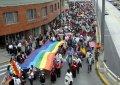Эквадорские индейцы провели марш в поддержку системы двуязычного образования в стране. Фото - Eduardo Terán / ElComercio.com