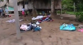 Деревня Монте-Сальвадо после нападения индейцев машко-пиро. Фото - кадр видео