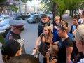 В Петрозаводске полицейского, прогнавшего индейцев-музыкантов, укусила собака. Фото - Наталья Митрофанова.
