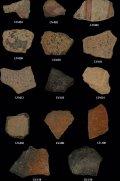 Анализируемые осколки теотиуаканских керамических сосудов
