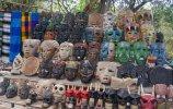 Торговля сувенирами. Чичен-Ица