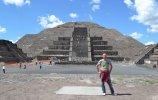Пирамида Луны. Теотиуакан. Фото: Алексей Ткачев