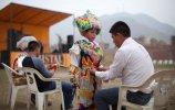 Танец ножниц (Danza de las Tijeras). Лима (Перу), 2013. Фото - Enrique Castro-Mendivil / Reuters