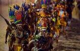 Парад в честь открытия Международных игр (09.11.2013). Фото - AFP PHOTO / CHRISTOPHE SIMON