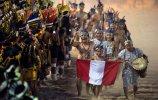 Индейцы из Перу на параде в честь открытия Международных игр (09.11.2013). Фото - AFP PHOTO / CHRISTOPHE SIMON