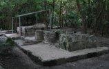 Руины Сан-Мигелито (Канкун). Строение с фресками. Фото - Д.Иванов (Екатеринбург)