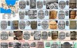 Гигантские каменные головы ольмеков