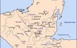 """Карта """"Города древних майя"""""""