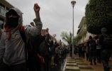 Молчаливый марш сапатистов 21.12.2012, Паленке. Фото - О.Мясоедов, Е.Корыхалова