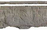 Каменная табличка с трона Храма XXI. Паленке, Чьяпас. Фото - INAH