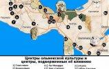 Центры ольмекской культуры и центры, подверженные её влиянию