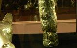 82. Бокал. Культура инков I. Серебро. Высота 27,7 см. Поздний промежуточный период (900-1450 н.э.)