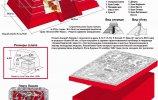 Храм Надписей, саркофаг и плита К'инич-Ханааб'-Пакаля I (Пакаль Великий)