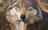Волк. Автор: О.Катракова