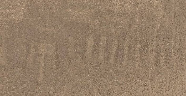 Японские учёные нашли новый загадочный геоглиф Наска. Фото: Университет Ямагата (Япония)