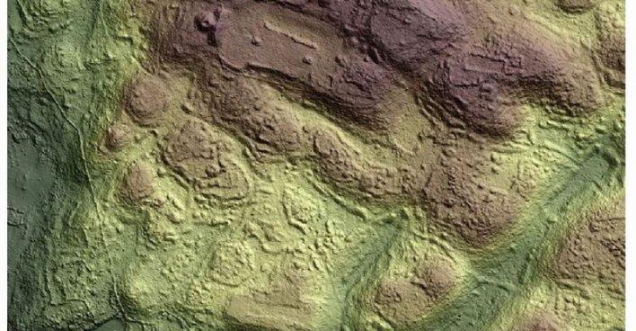 Ангамуко: как технология LiDAR позволила обнаружить крупный древний город в Мичоакане. Илл. Christopher T. Fisher и др.
