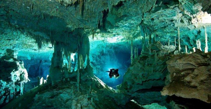 Затопленная водой пещерная система Сак-Актун стала самой крупной в мире