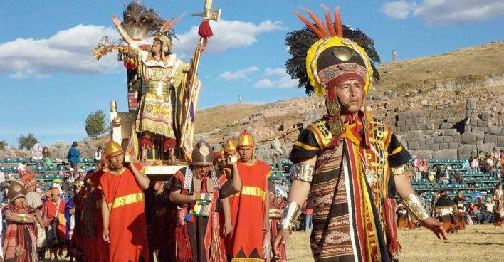 Генетический анализ возможных потомков Инки помог выявить откуда их предки родом. Архивное фото праздника в Саксайуамане