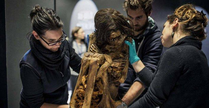 1000-летняя мумия 50-летней женщины станет экспонатом выставки, которая пройдёт в Лионе (Франция)