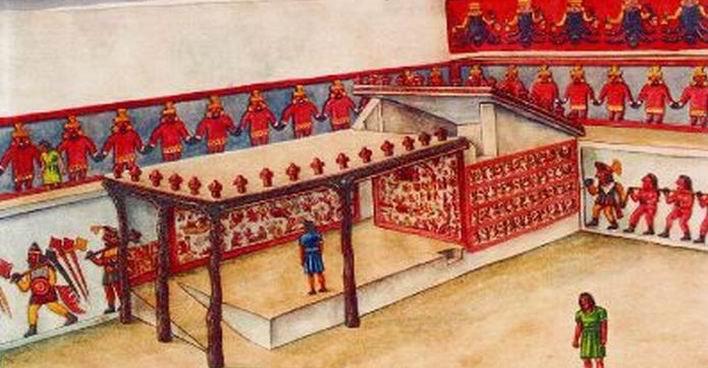 Реконструкция Уаки Луны, культура Мочика